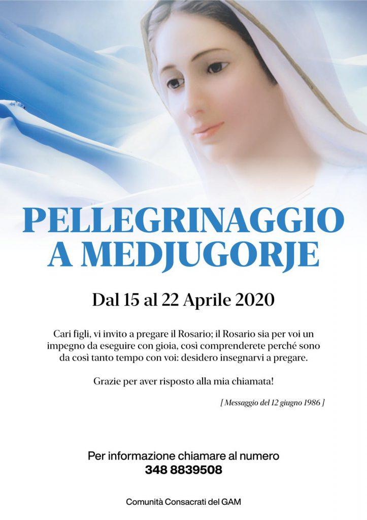 Pellegrinaggio a Medjiugorje GAM